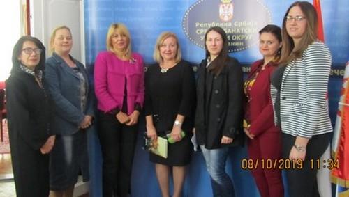 Састанак са Радним телом за родну равниправност