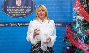 Novogodisnji koktel nacelnica Snezana Vucurevic