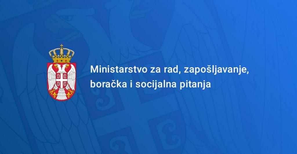 Ministarstvo za rad zaposljavanje i socijalana pitanja