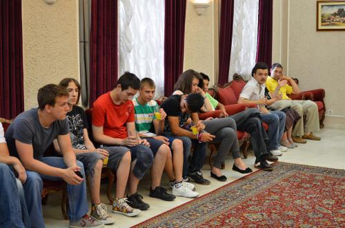 PRIJEM ZA UČENIKE KOJI SU OSVOJILI PRIZNANJA NA REPUBLIČKIM TAKMIČENJIMA 2012