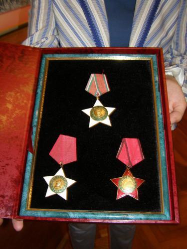 Vojna odlikovanja iz Drugog svetskog rata na poklon zrenjaninskom Narodnom muzeju