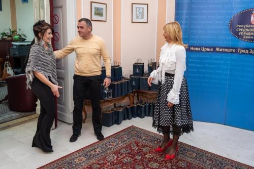 Начелница средњобанатског управног округа приредила новогодишњи пријем